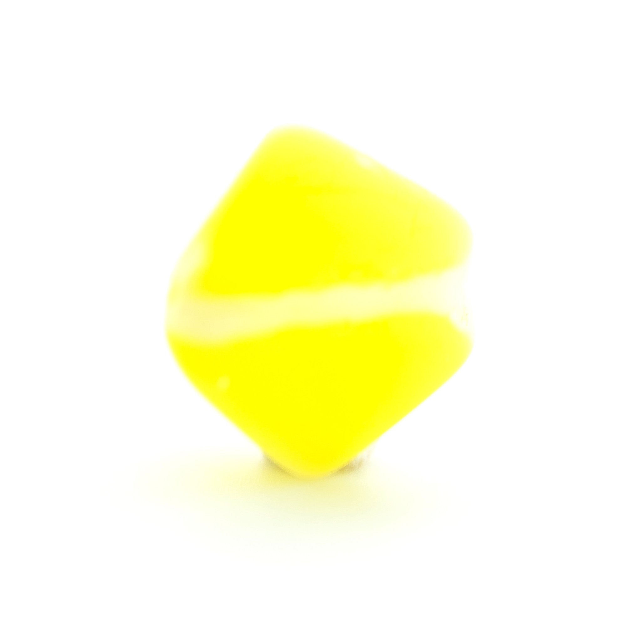6MM Yellow Glass Nugget Bead (144 pieces)
