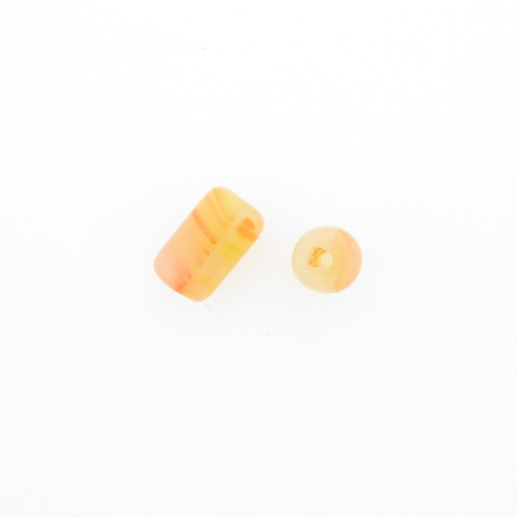 10X6MM Yellow Glass Tube (72 pieces)