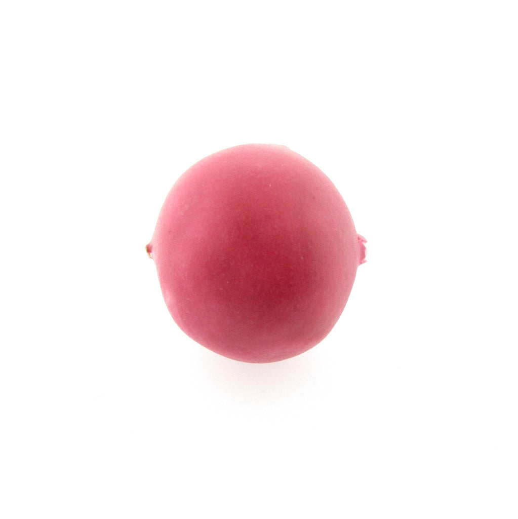 15MM Pink Matte Paper Mache (12 pieces)