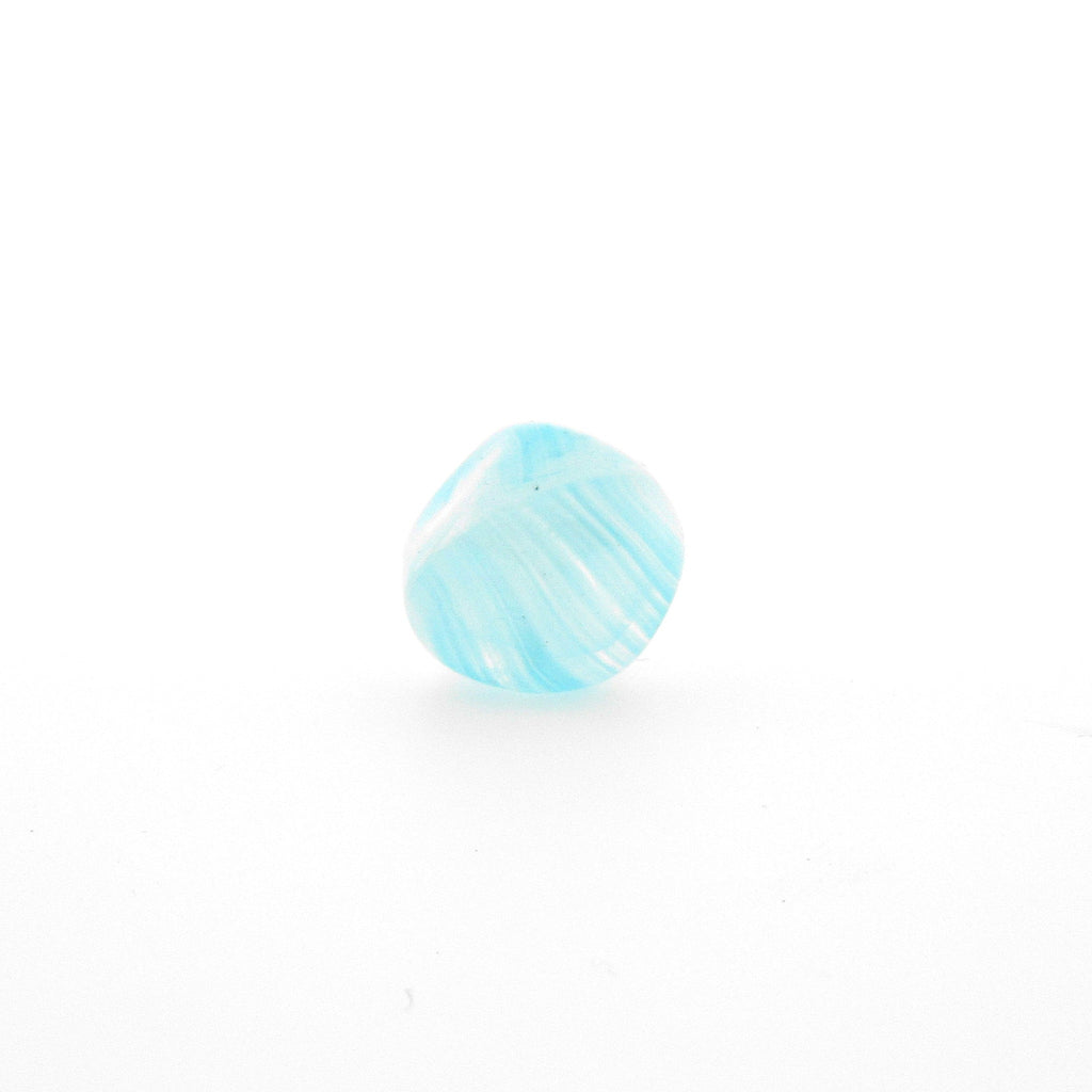 10MM Aqua Quartz Baroque Glass Bead (36 pieces)