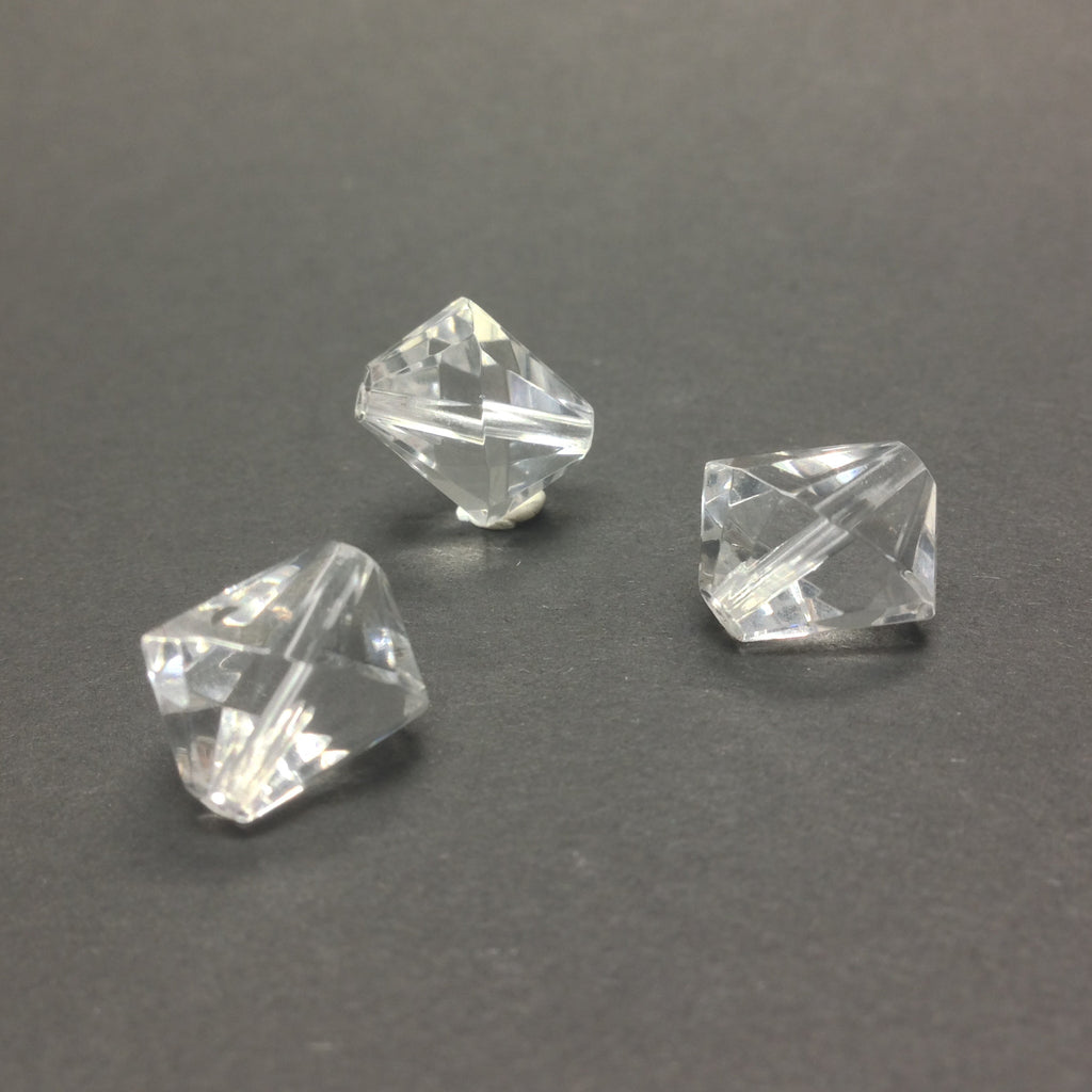 17MM Crystal Faceted Bead (36 pieces)