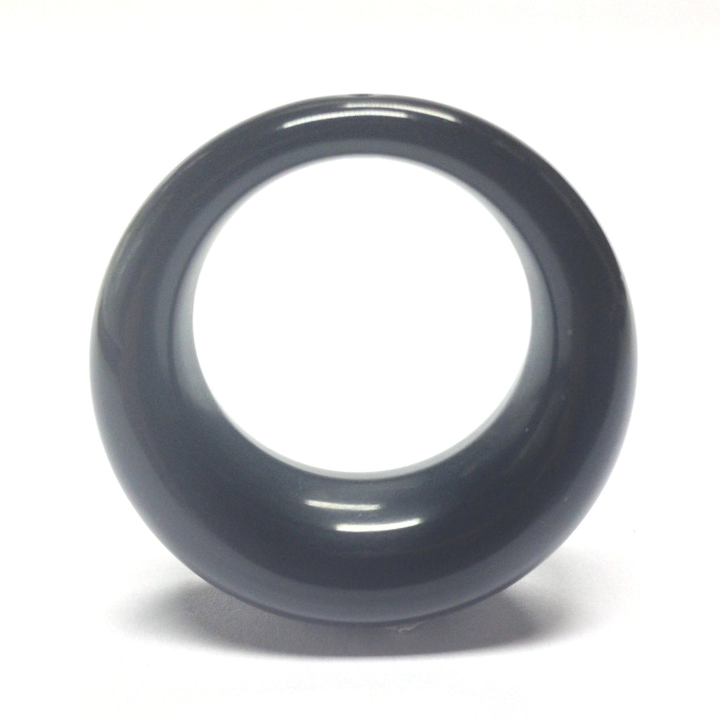 36MM Black Hoop Drop (12 pieces)