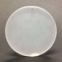 42MM Crystal Mat Disc Drop (12 pieces)