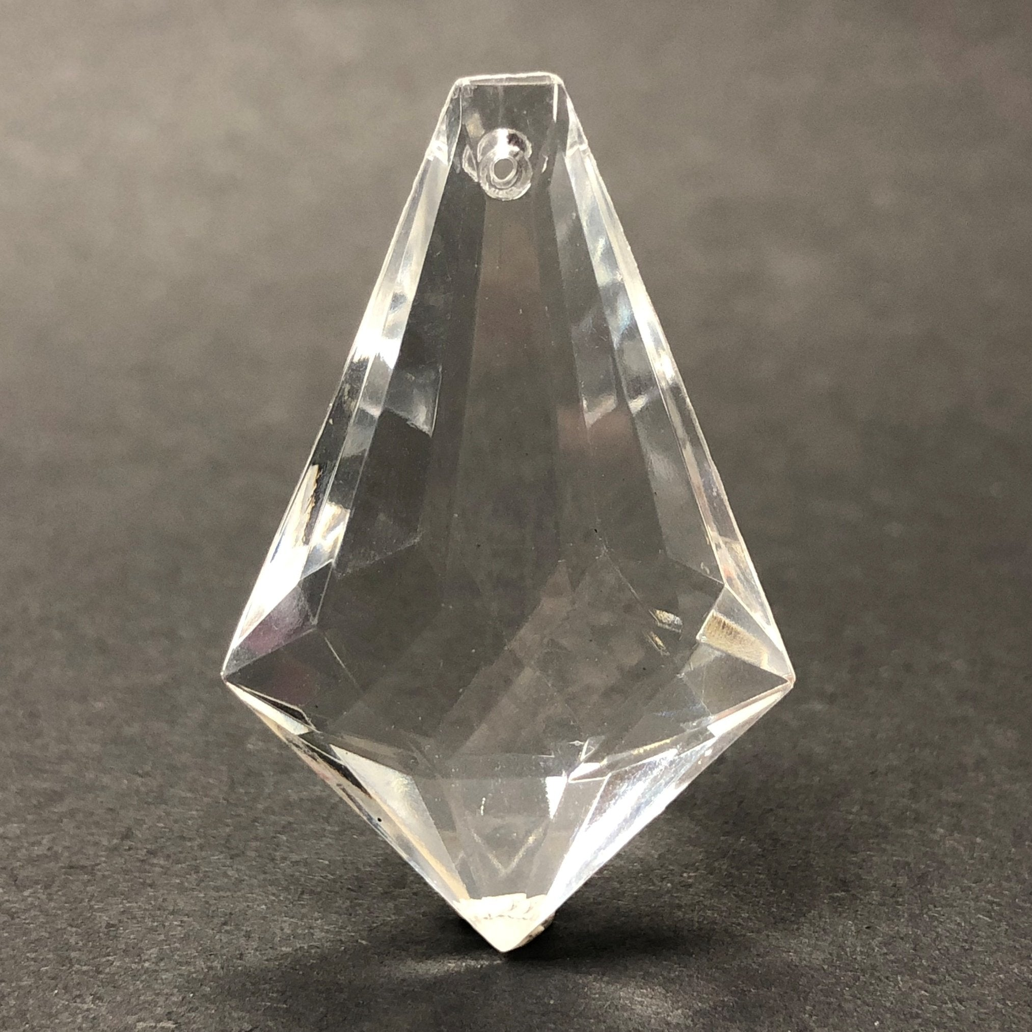 38X25MM Crystal Faceted Drop (12 pieces)