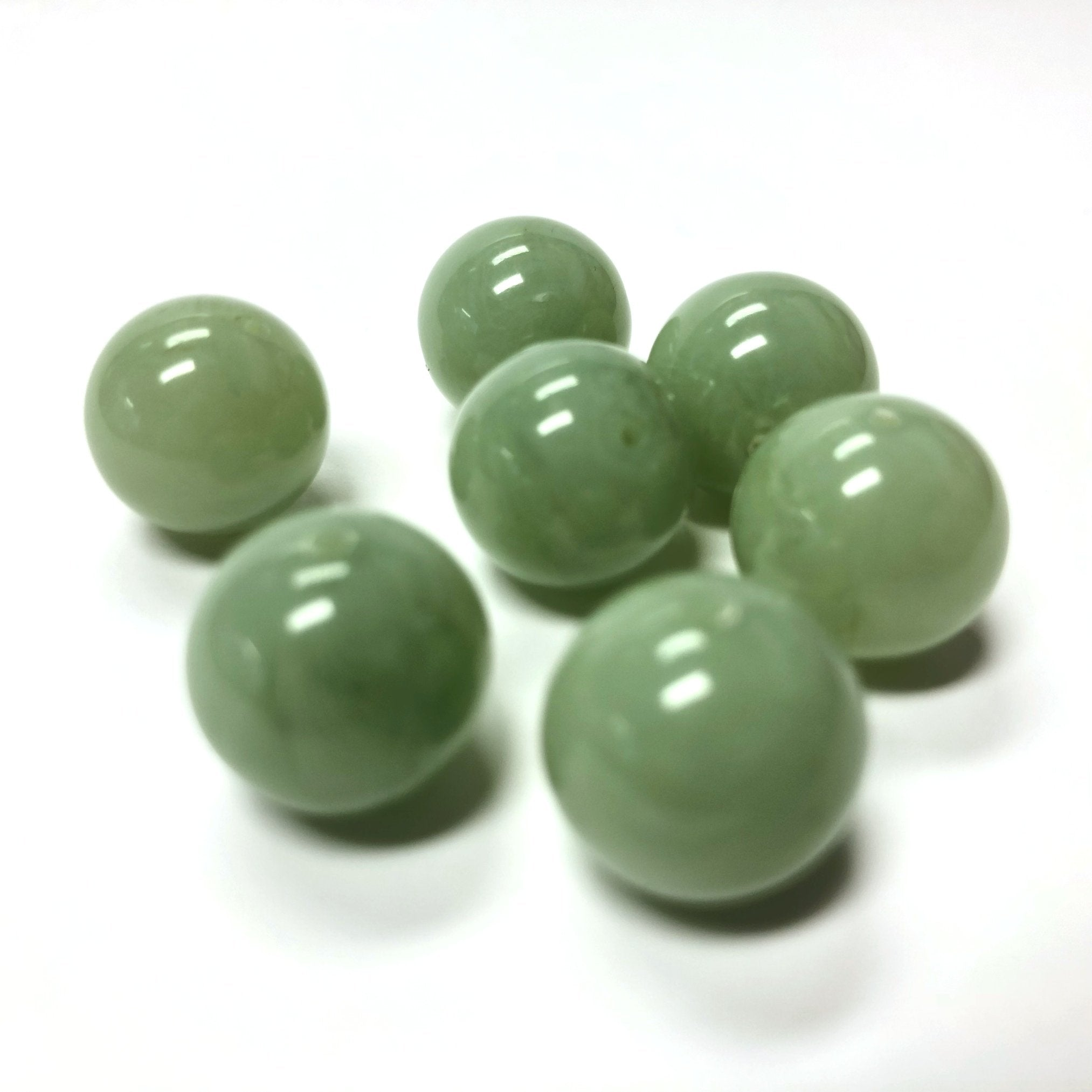 "14MM Green ""Agate"" Acrylic Beads (72 pieces)"