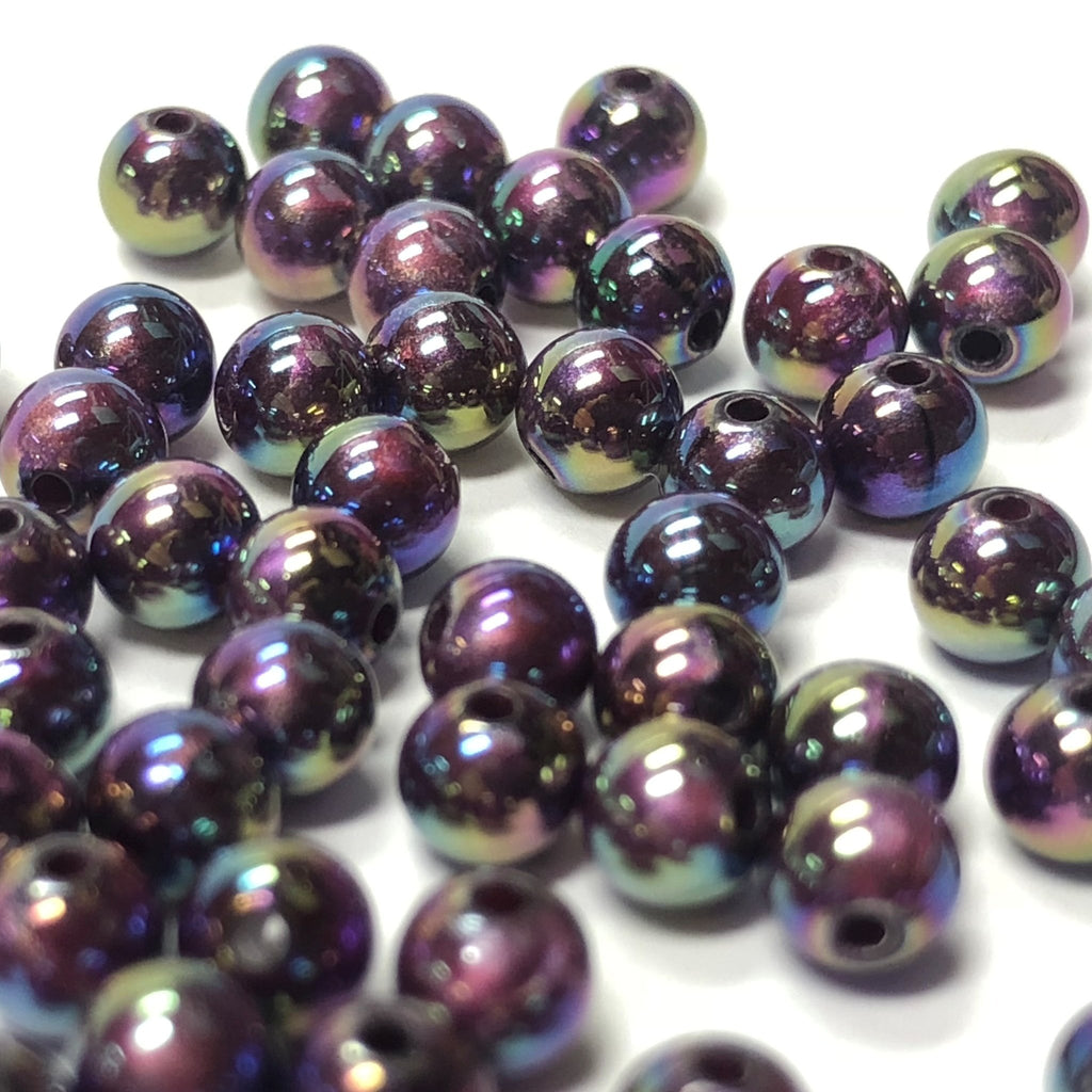 4MM Lilac Silk Ab Acrylic Beads (144 pieces)