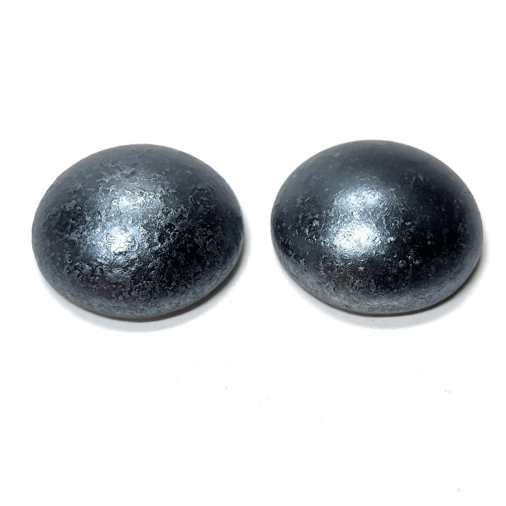 "18MM Gunmetal ""Crepe"" Acrylic Cab (24 pieces)"