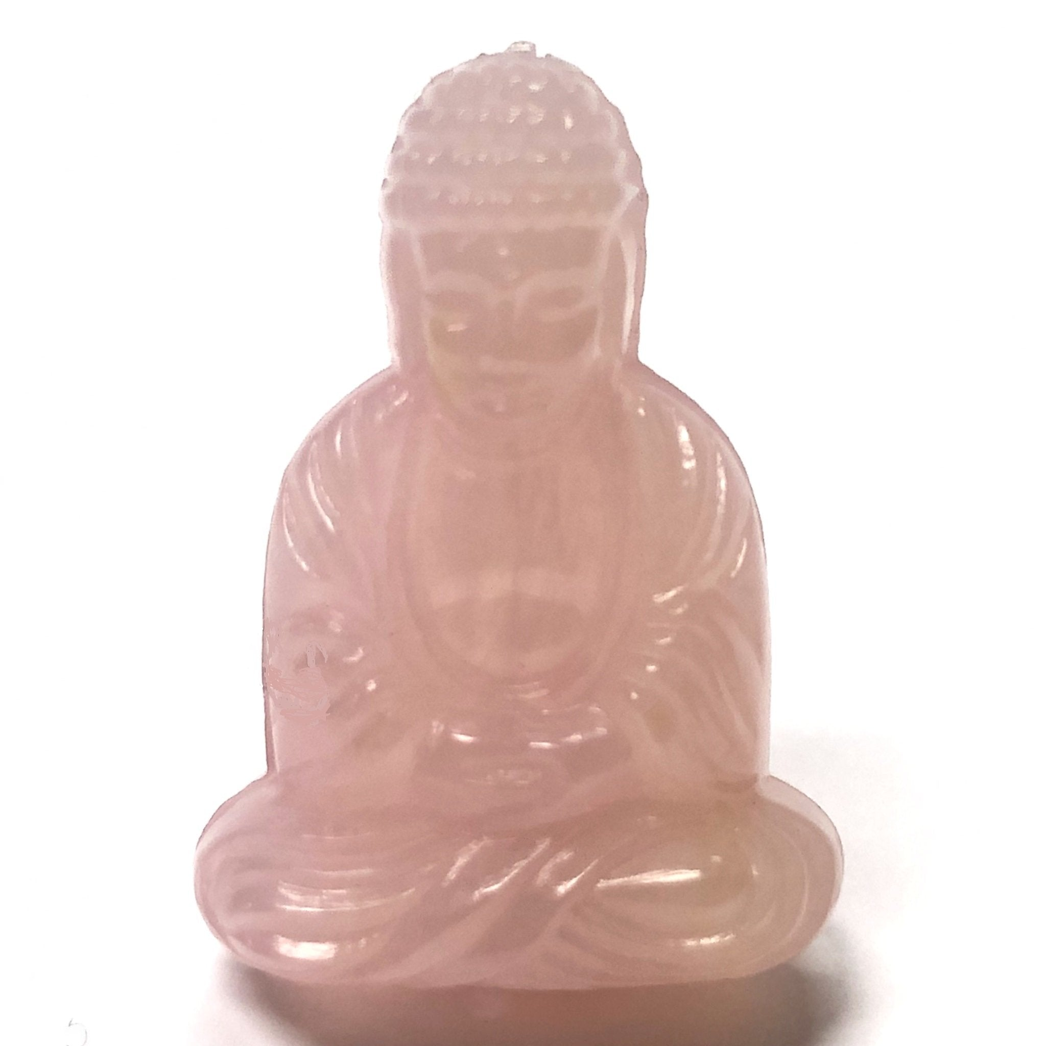 "25X18MM Pink ""Agate"" Buddha Acrylic Bead (36 pieces)"