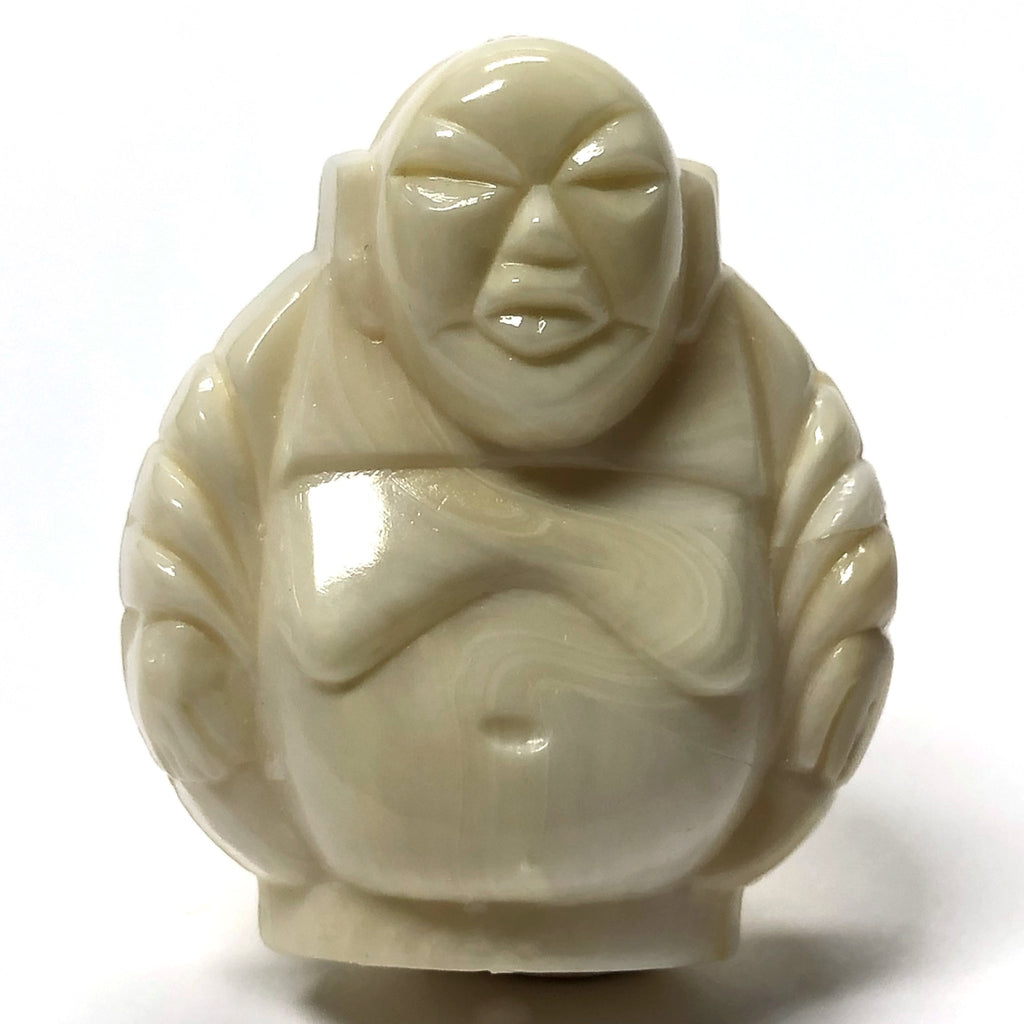 "29MM ""Ivorine"" Buddha Acrylic Bead (12 pieces)"