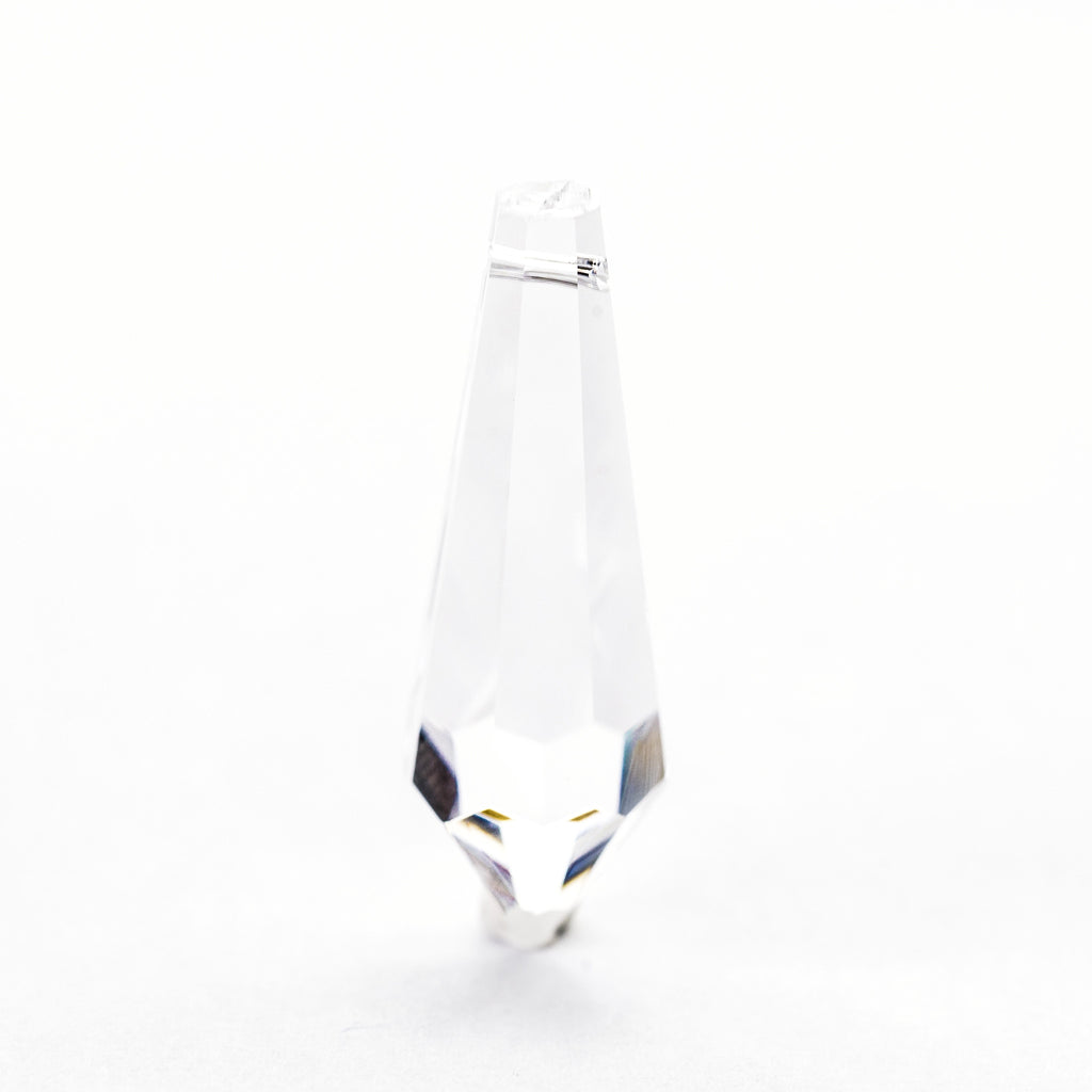 38X14MM Crystal Glass Faceted Drop (7 pieces)