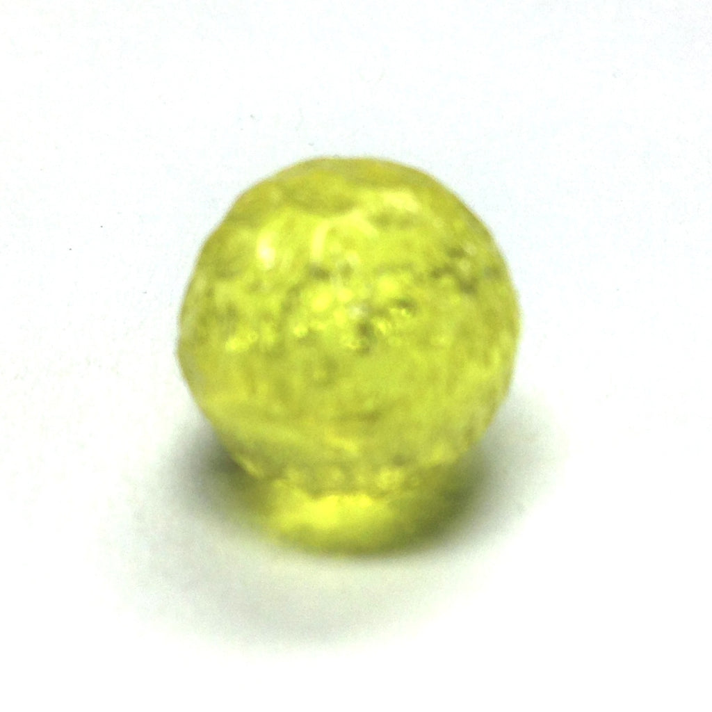 12MM Yellow Baroque Bead (72 pieces)