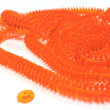 6MM Orange Faceted Rondel Bead (300 pieces)