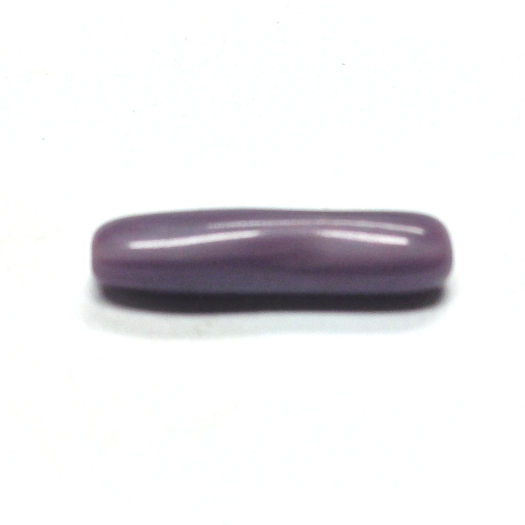 17X5MM Amethyst Glass Stick Bead (72 pieces)