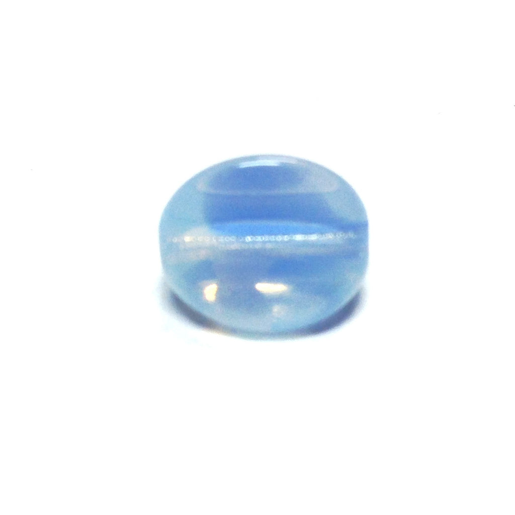 11MM Blue 3-Sided Givre Bead (36 pieces)