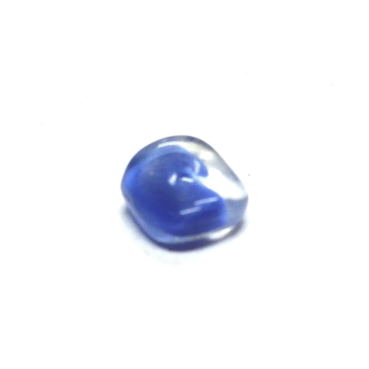 8MM Blue Glass Rondel Bead (200 pieces)