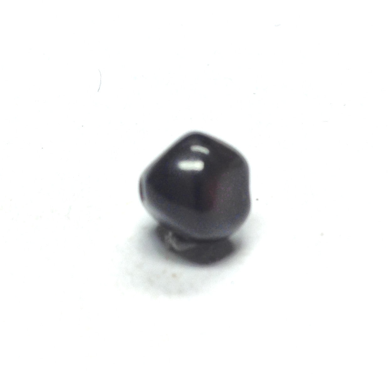 8MM Rust/Black Glass Nugget Bead (300 pieces)