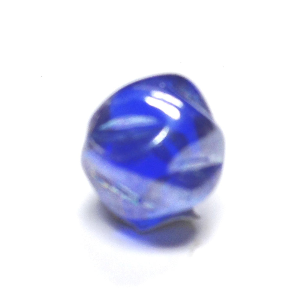 10MM Sapphire Blue Luster Nugget Bead (36 pieces)