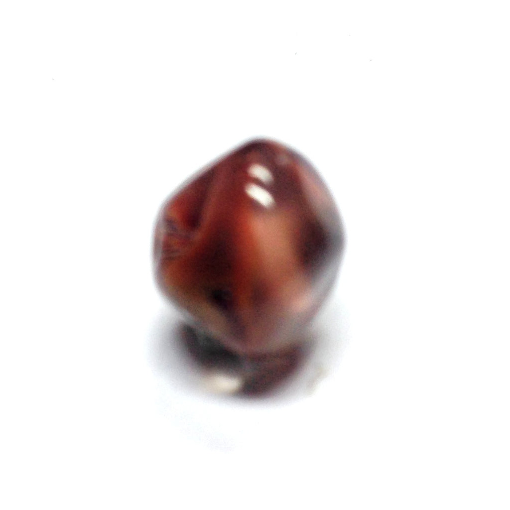 10MM Brown Glass Nugget Bead (72 pieces)