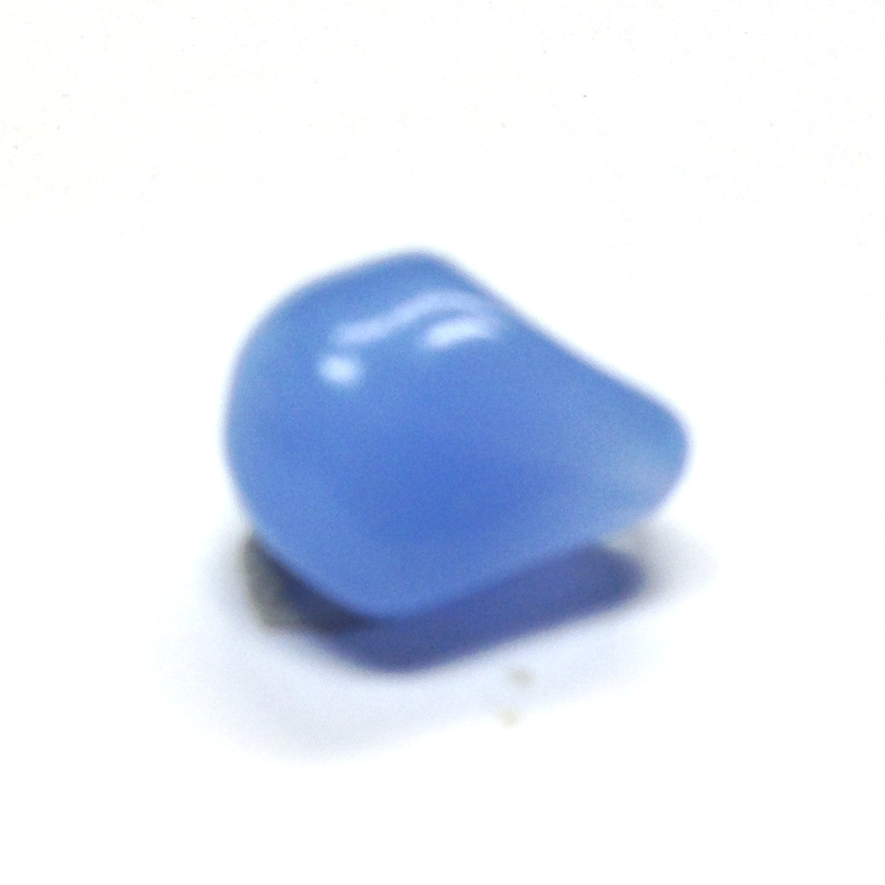 Small Lt.Blue Opal Glass Nugget Bead (72 pieces)