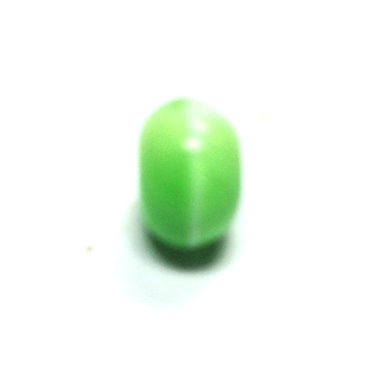 8MM Green Glass Rondel Bead (144 pieces)