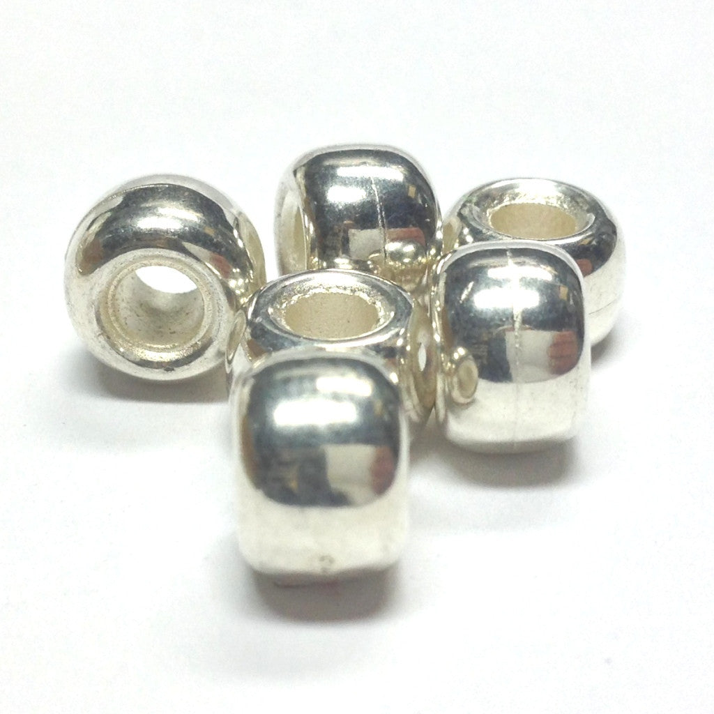 Silver Pony Bead (144 pieces)