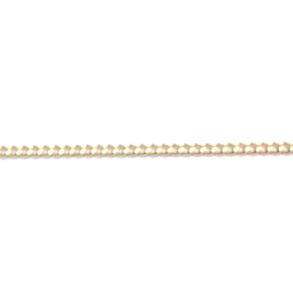Gold Tone Plated Chain Brass Curb (1 foot)