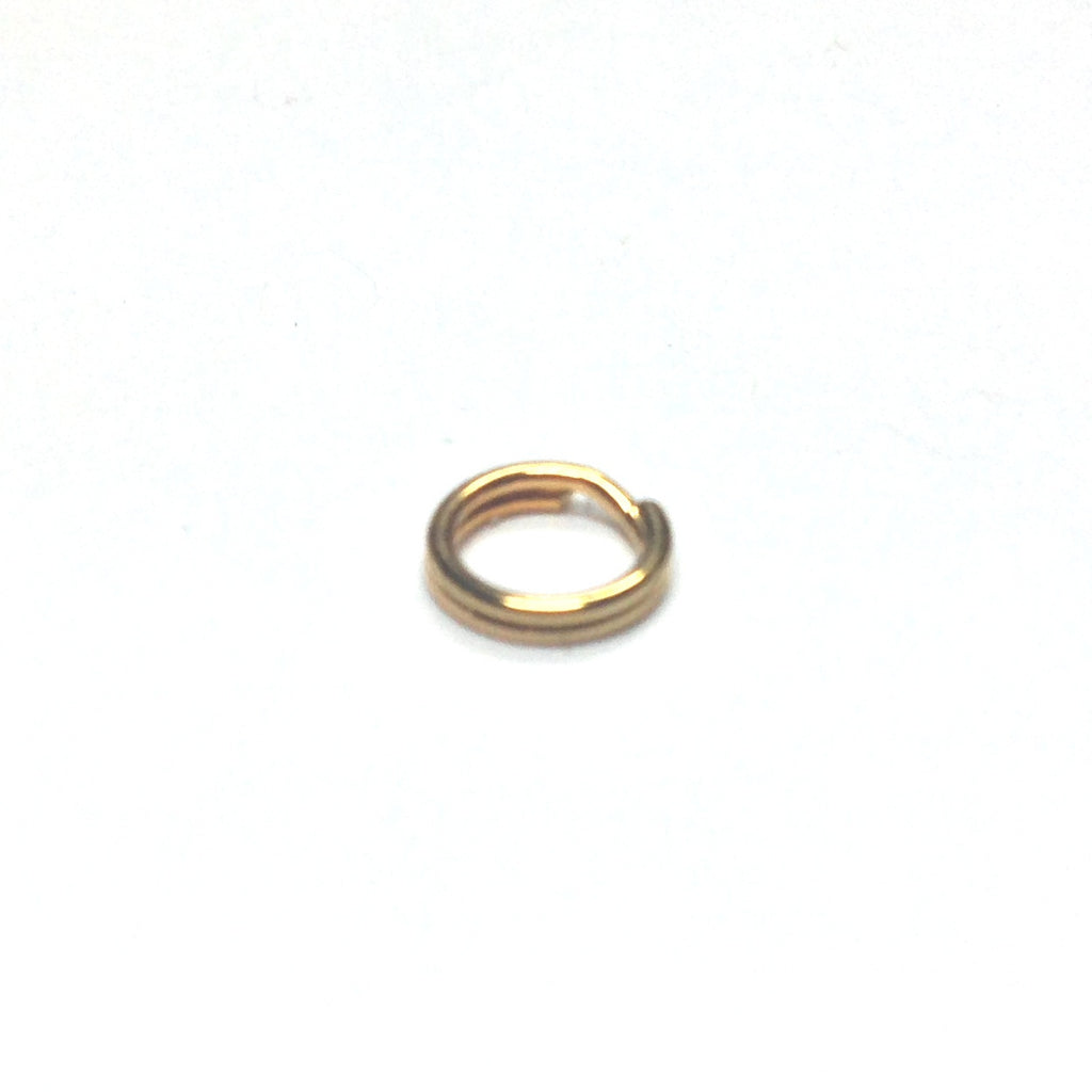 24MM Split Ring Gilt (144 pieces)