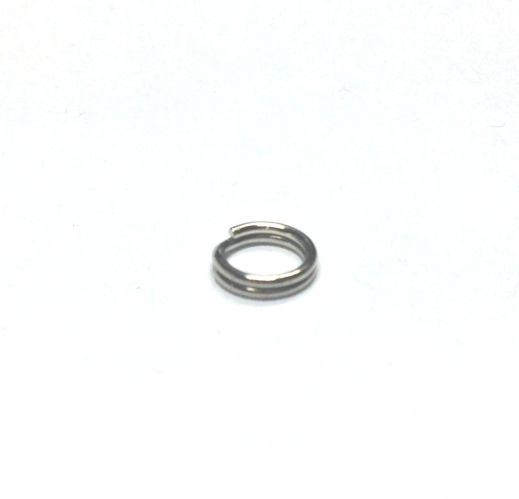 6MM Split Ring Nickel (144 pieces)