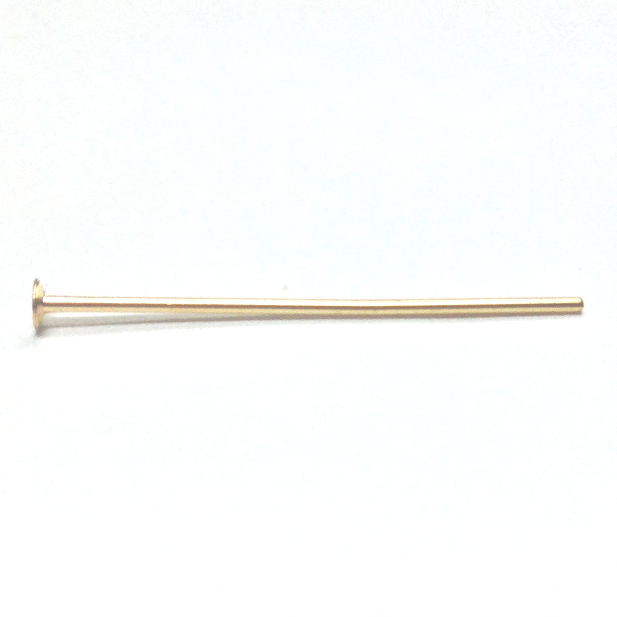 "1"" Brass Headpin (.028) 1 Oz. (~275 pieces)"