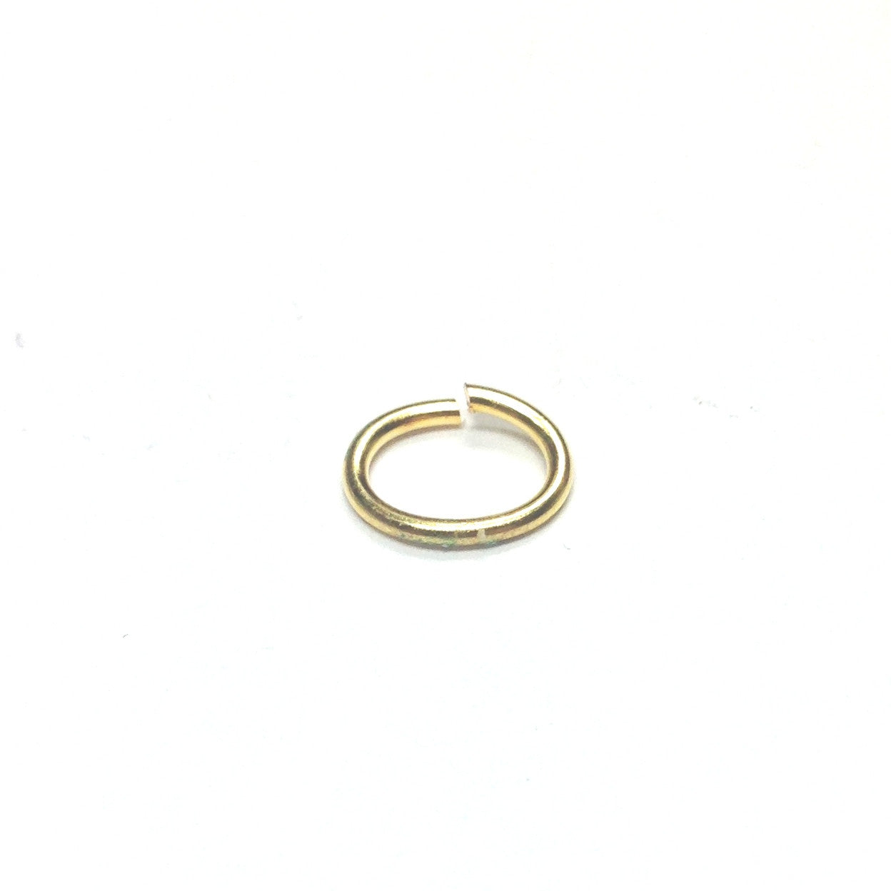00 (6X8.5MM) .040 Oval Brass Jumpring (288 pieces)