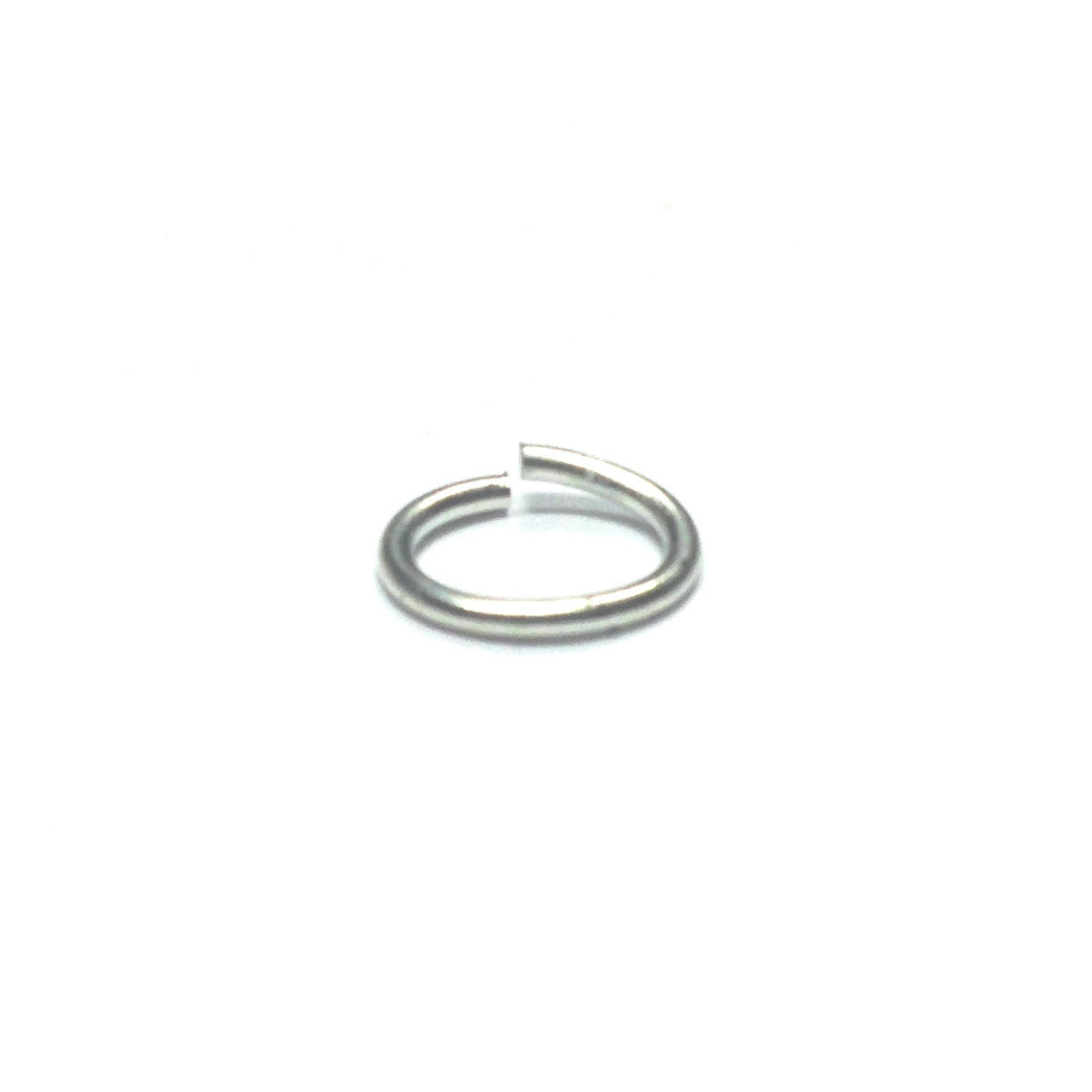 00 (6X8.5MM) .040 Oval Nickel Jump Ring 1 Lb. (~3744 pieces)