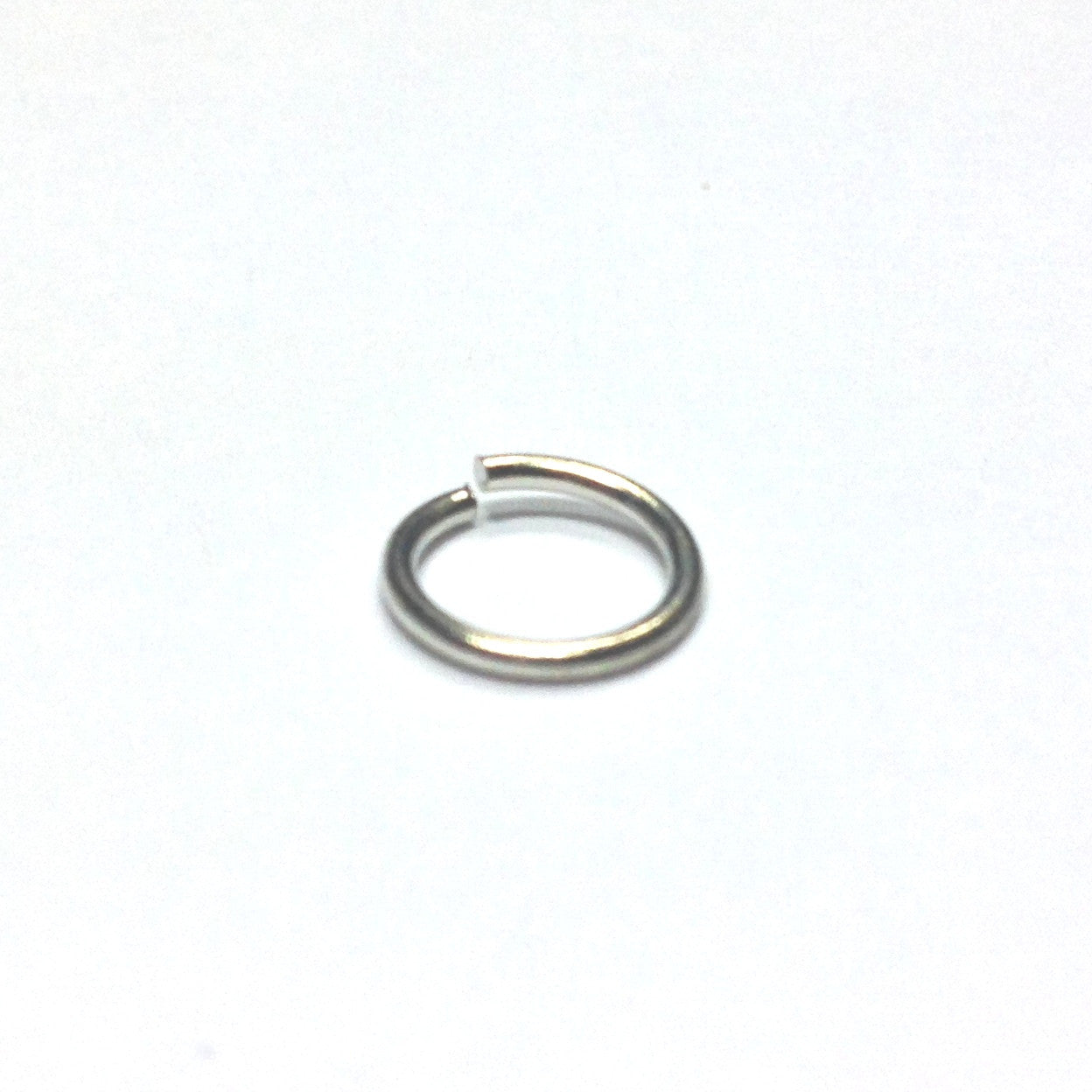 R12 (15MM) .057 Nickel Jump Ring 1 Lb. (~720 pieces)