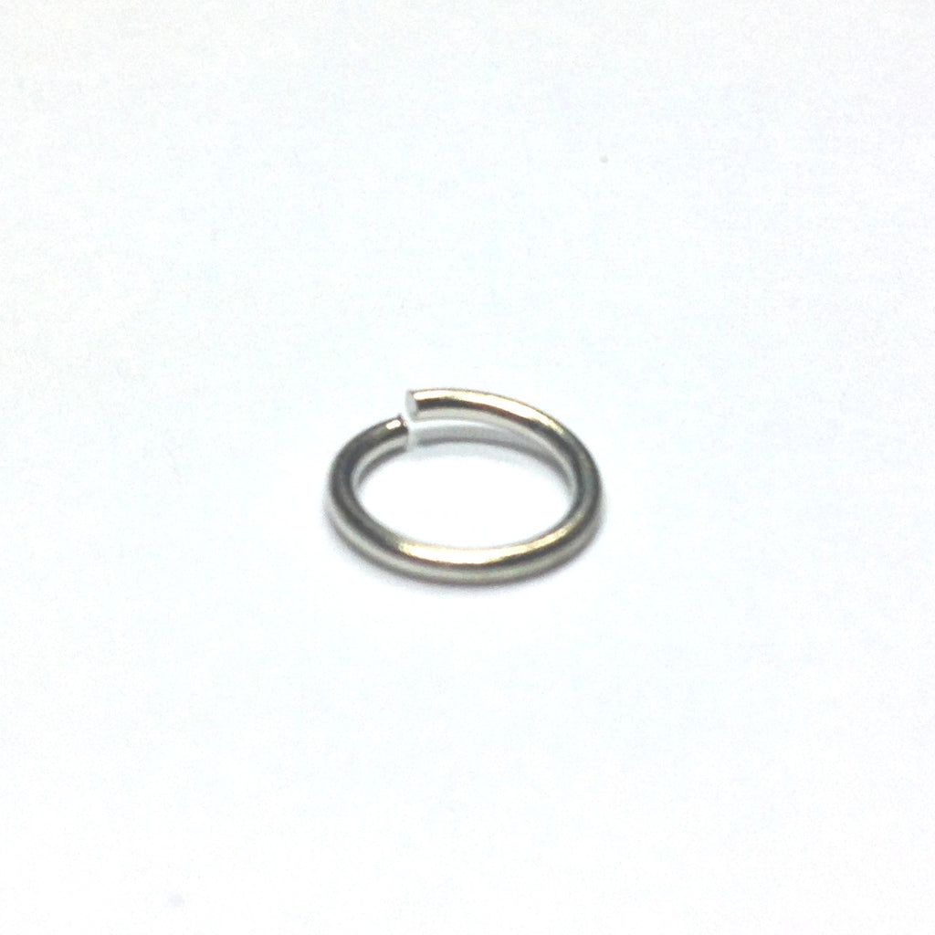 R6 (8MM) .040 Nickel Jump Ring 1 Lb. (~2880 pieces)