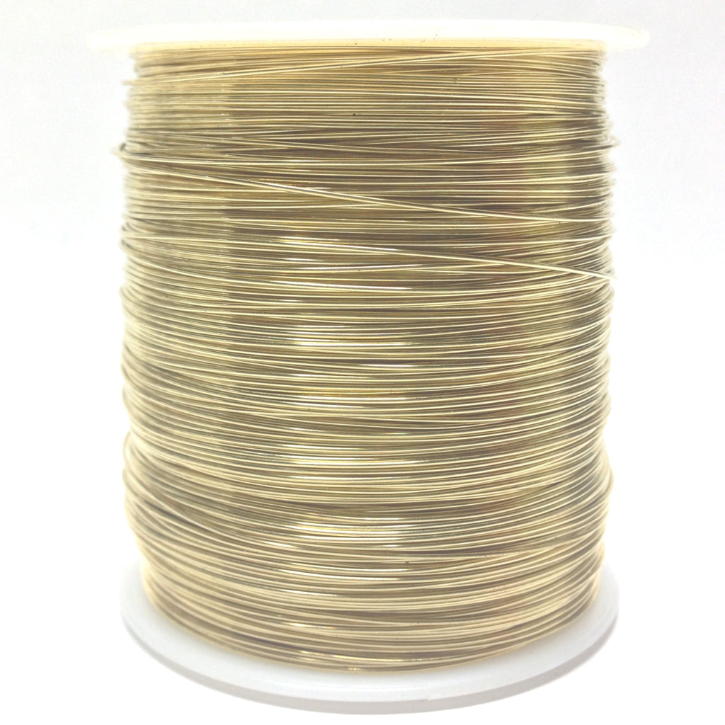 #34 Brass Copper (T) Wire 4 Oz Spool (1 piece)