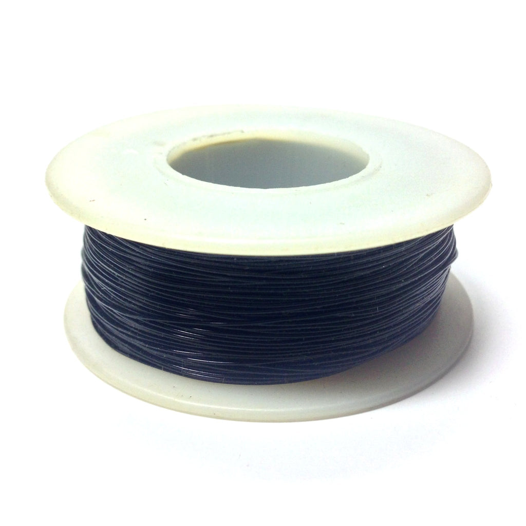 #26 Black Copper Wire 4 Oz Spool (~300 Ft) (1 pieces)