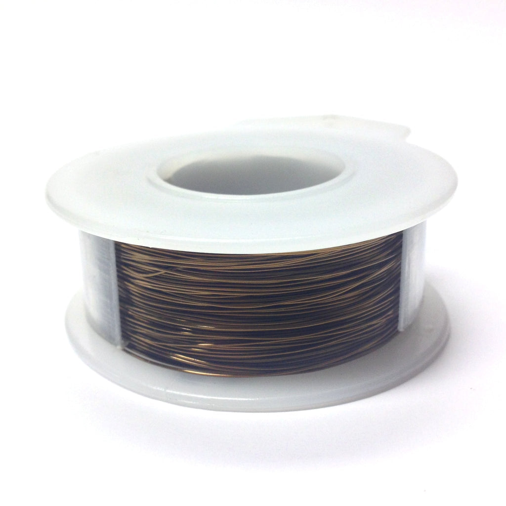 #26 Bronze Wire 4 Oz Spool (~300 Ft) (1 pieces)