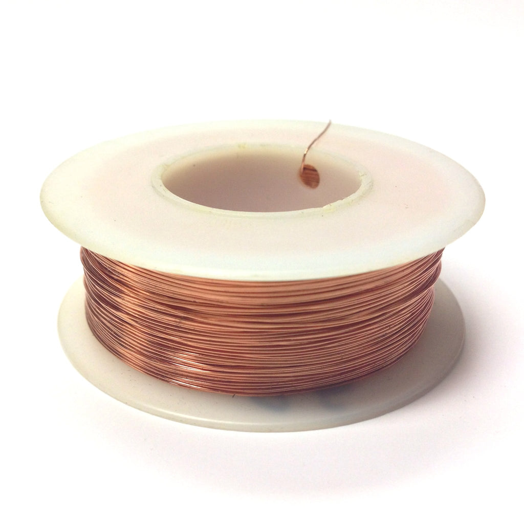 #28 Copper Wire 4 Oz Spool (~500 Ft) (1 pieces)