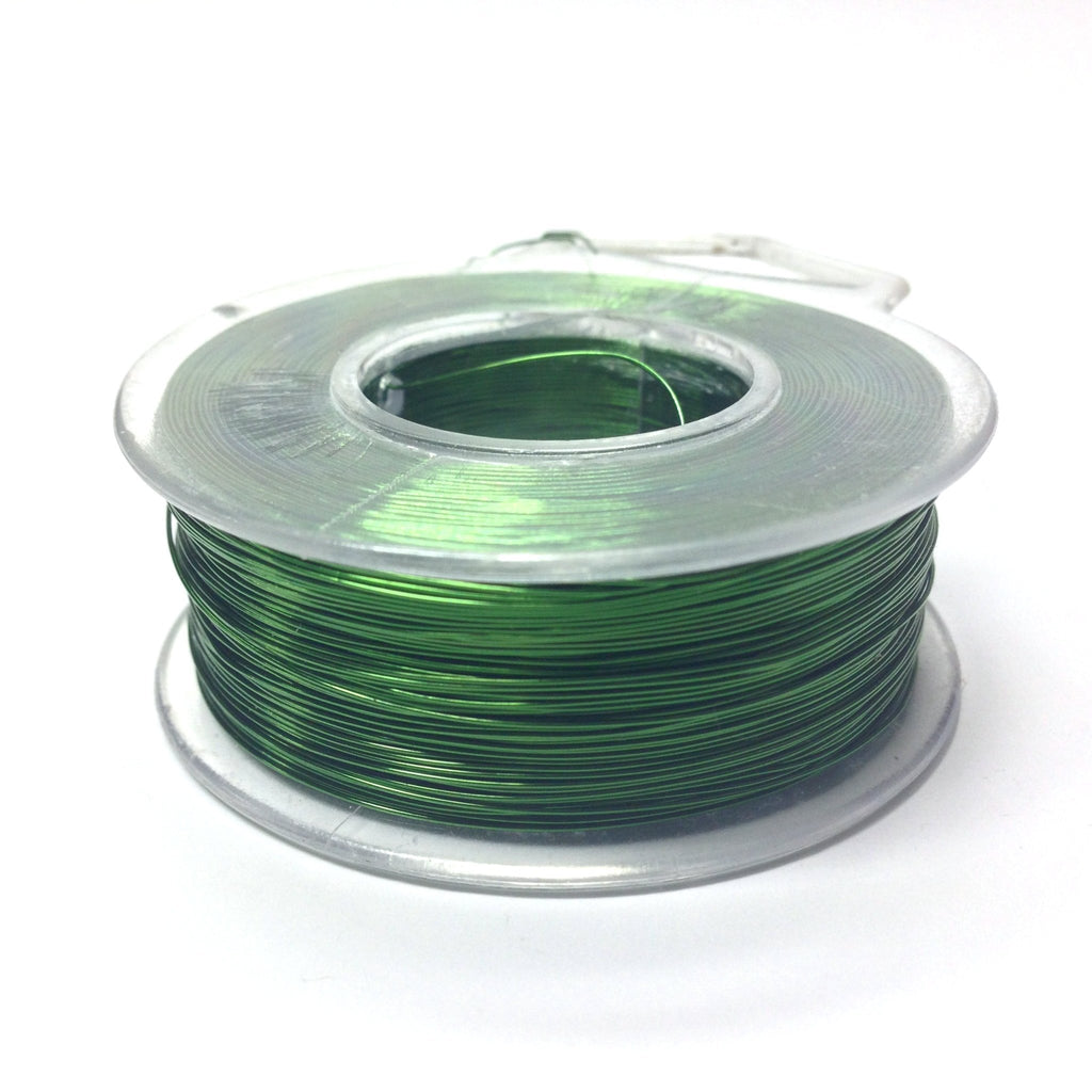 #28 Peridot Copper Wire 4 Oz Spool (~500 Ft) (1 pieces)