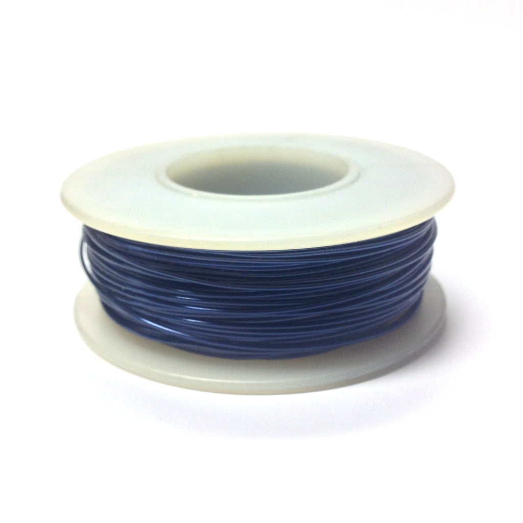 #22 Sapphire Blue Copper Wire 4 Oz Spool (~125 Ft) (1 pieces)