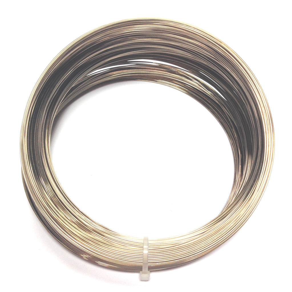"3-3/4"" Necklace Wire .0245 Gilt (8 Oz. Coil)"