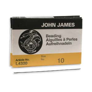 #10 English Beading Needle (25/Pkg)