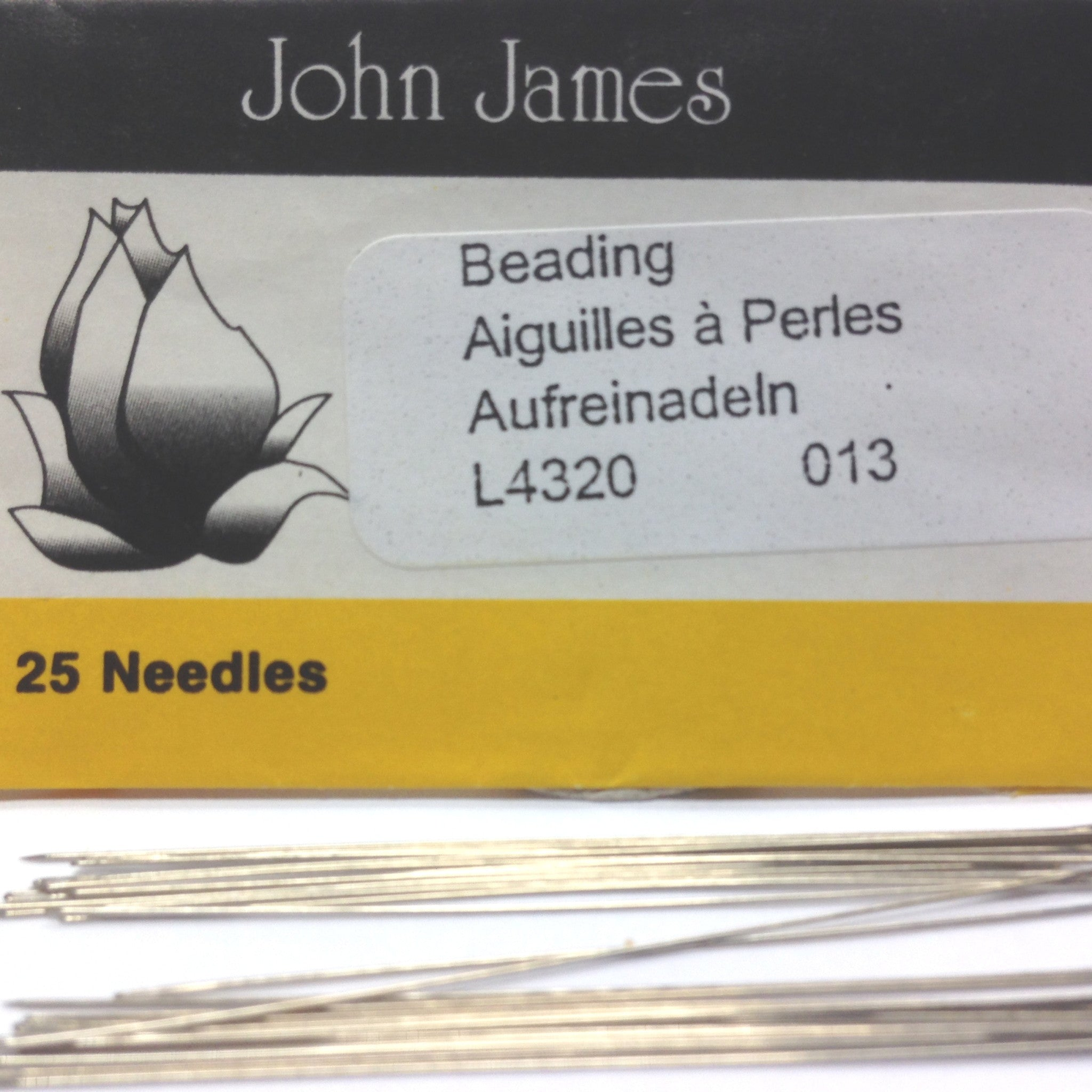 #13 English Beading Needle (25/Pkg)