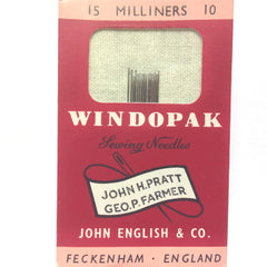 #10 English Millinery Needles (15/Pkg)