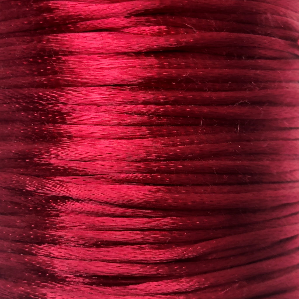 Size #1 - 2MM Beauty Satin Cord (Rattail) 144 Yds