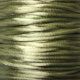 Size #1 - 2MM Mint Satin Cord (Rattail) 144 Yds