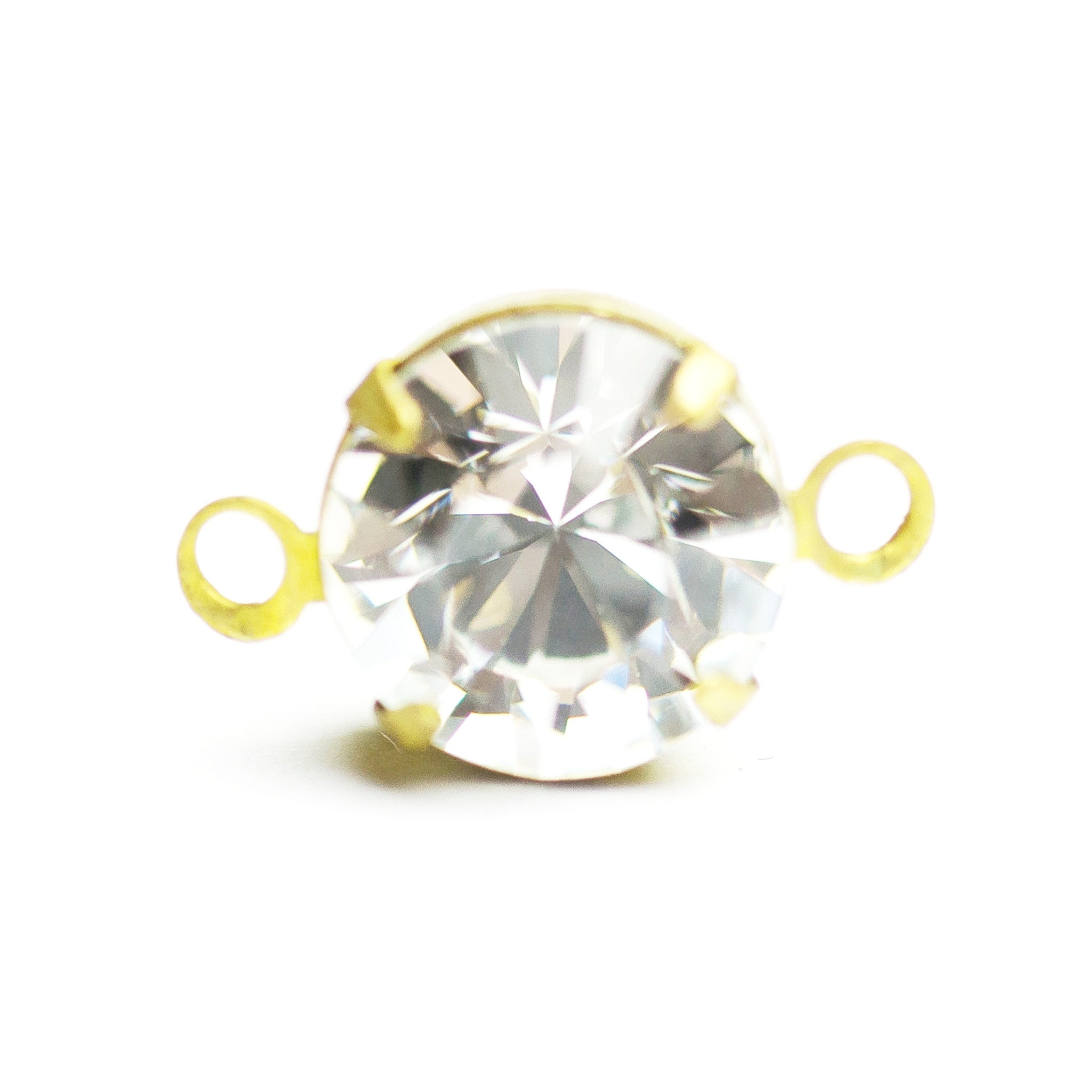 Pp24 2-Ring Set Crystal/Brass (36 pieces)