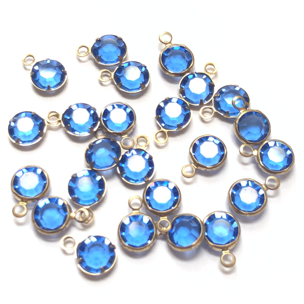 Ss29 Channel 1 Ring Sapphire/Brass (48 pieces)