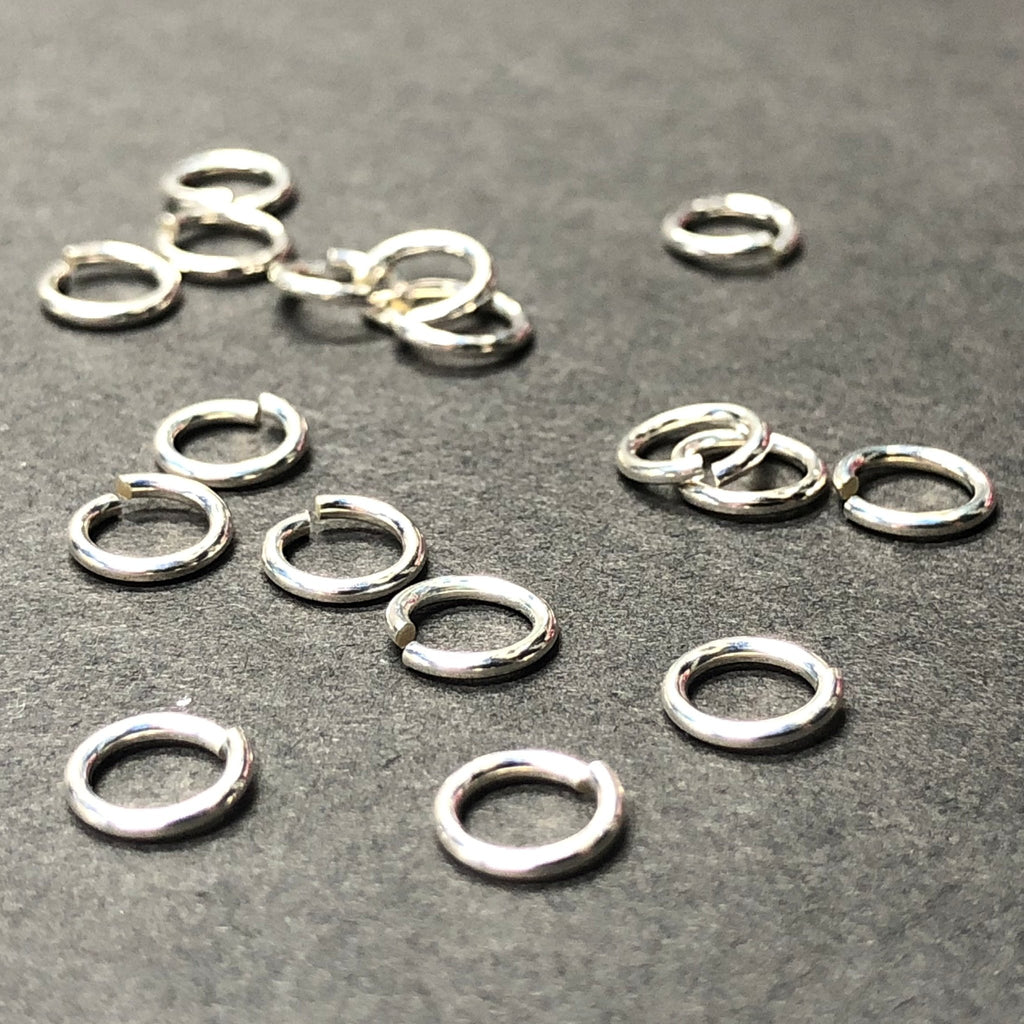 .925 Sterling 4MM Jumpring .025 (72Pc/Pk)