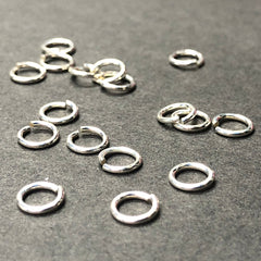 .925 Sterling 5MM Jumpring .032 (36Pc/Pk)