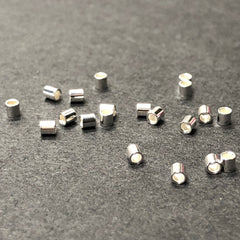 .925 Sterling Crimp 2X2MM (72Pc/Pk)